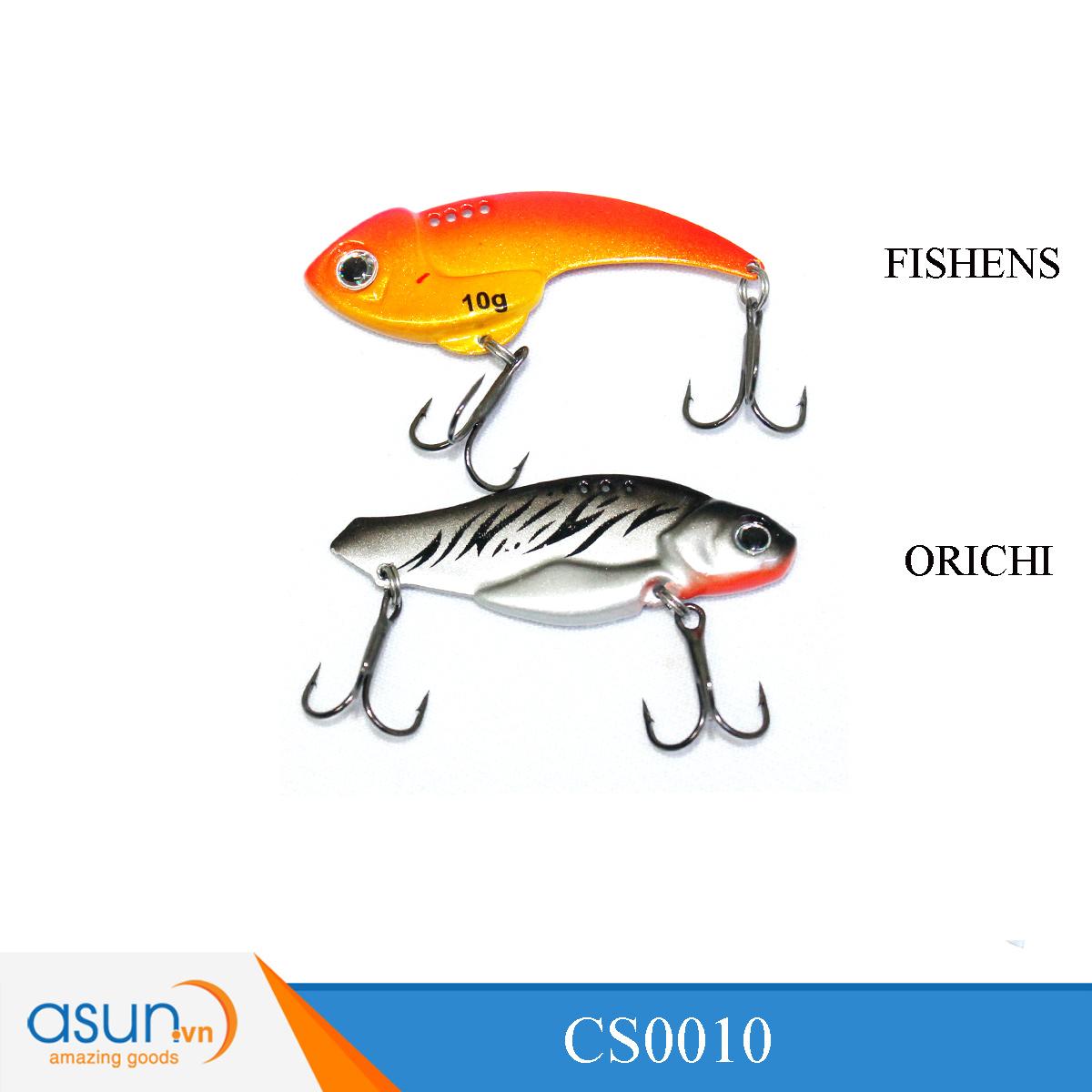 Mồi Câu Cá Giả - Cá Sắt Fishens - Orichi - Mồi Thìa Câu Lure Lóc 10g