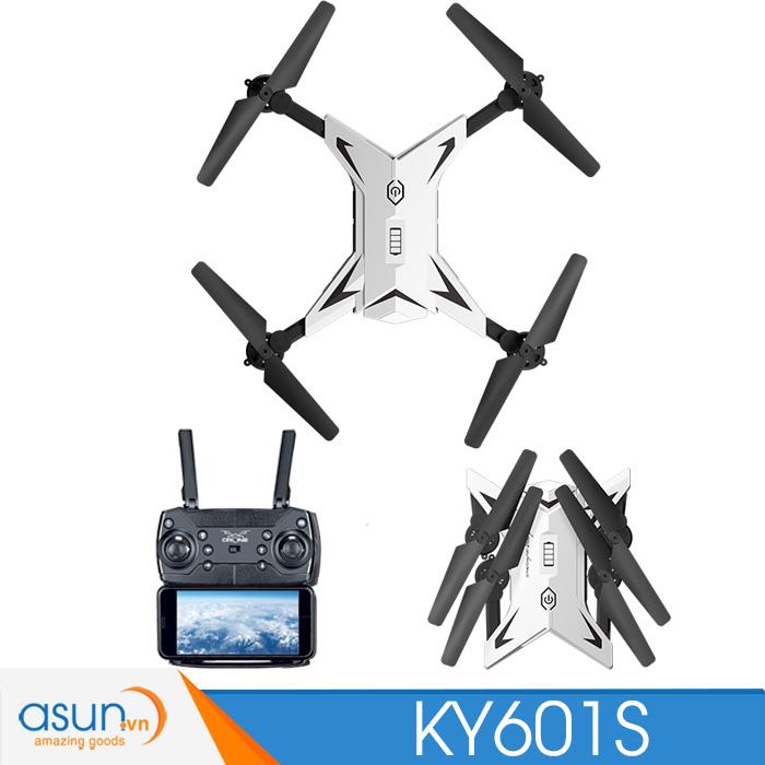 Máy Bay Điều Khiển Từ Xa KY601S Wifi Camera 1080P Tự Giữ Độ Cao 20 phút