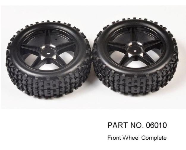 Bánh xe Nitro tỉ lệ 1/10 Cho các Dòng xe Nitro Giá cho 1 cặp - 06026