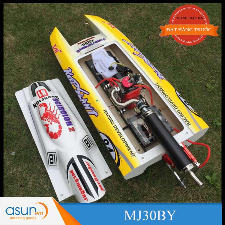 HÀNG ĐẶT TRƯỚC Tàu - Cano Chạy Xăng MJXF - MJ30BY