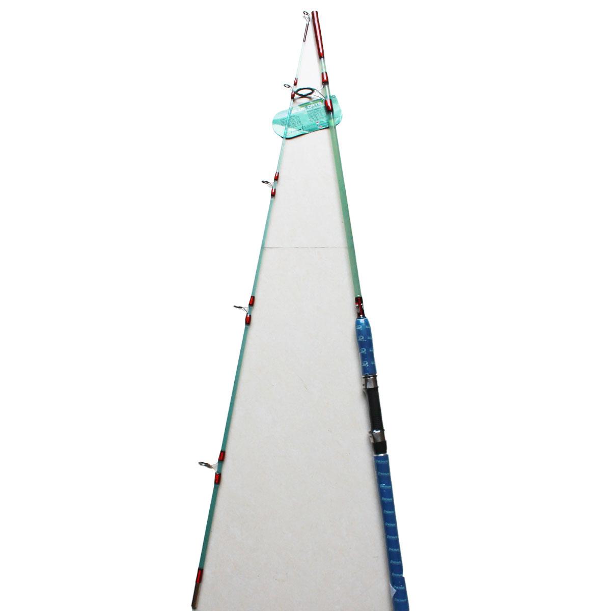 Cần Câu Máy Hai Khúc Đặc Pioneer Blue Crystal 1m98