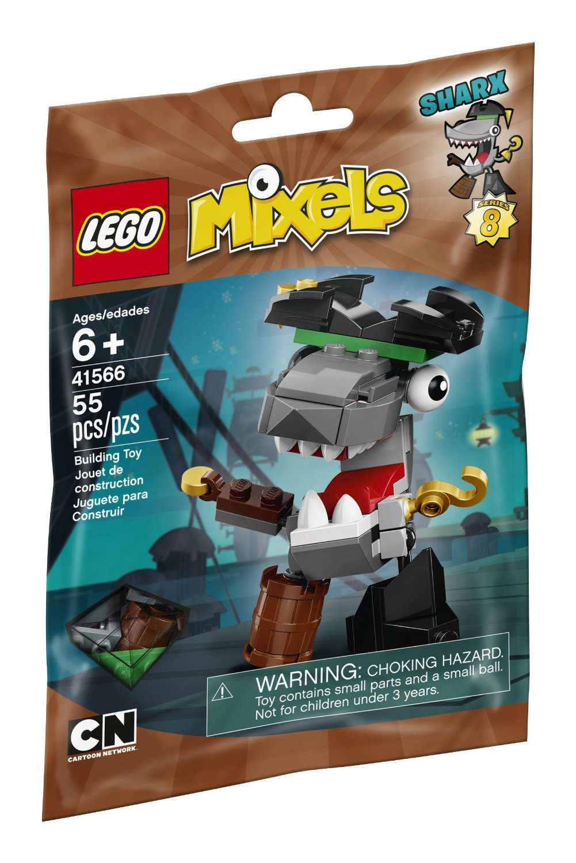 Đồ Chơi Xếp Hình LEGO - Thuyền Trưởng Cá Mập Sharx Thương Hiệu LEGO