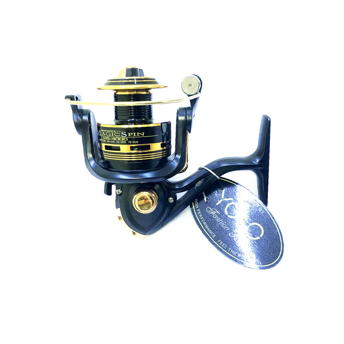 Máy Câu Cá Yolo Magic Spin MS4000 - Chính hãng bảo hành 3 tháng