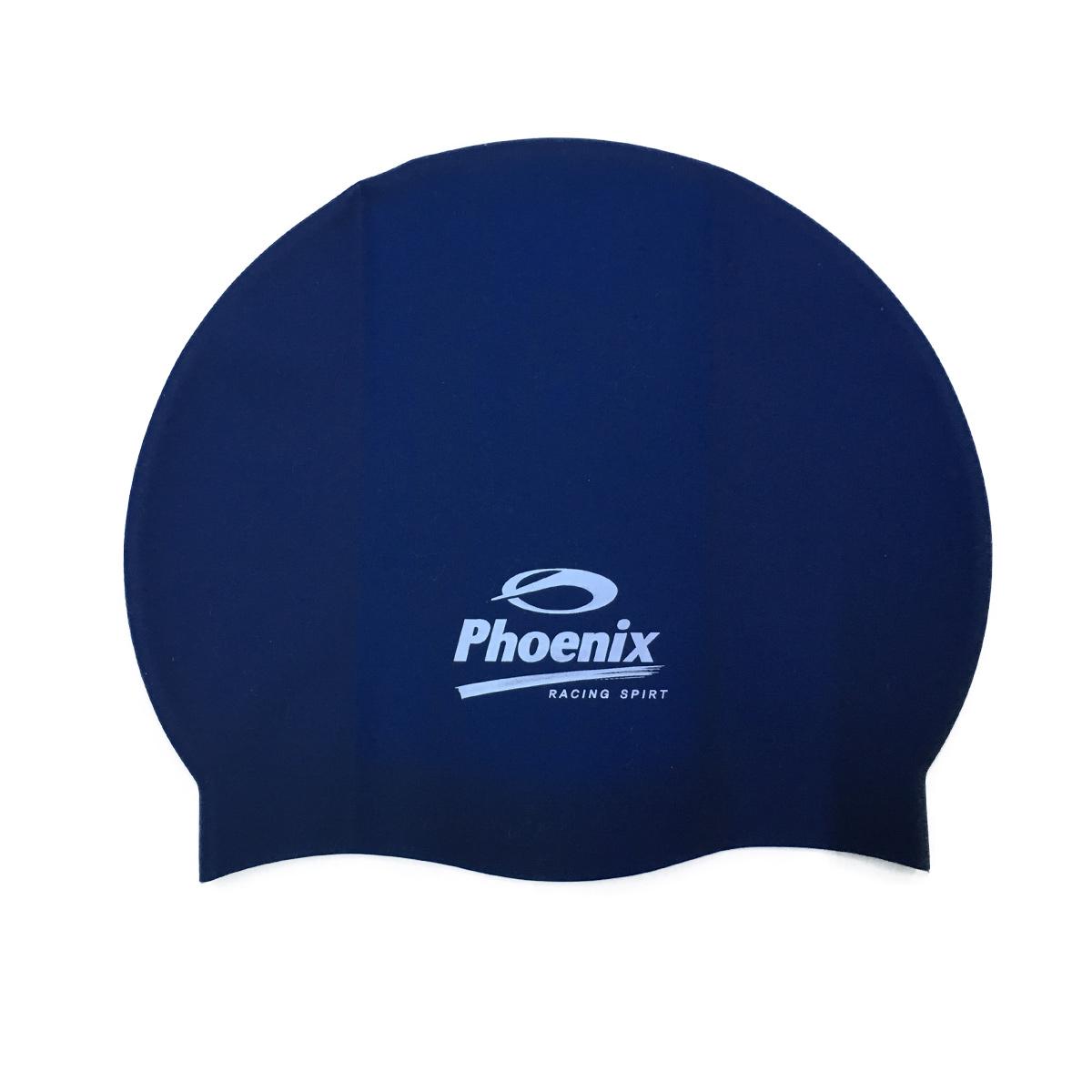 Nón Bơi Chính Hãng PhoenixPN Trơn Xanh Đen - NP100