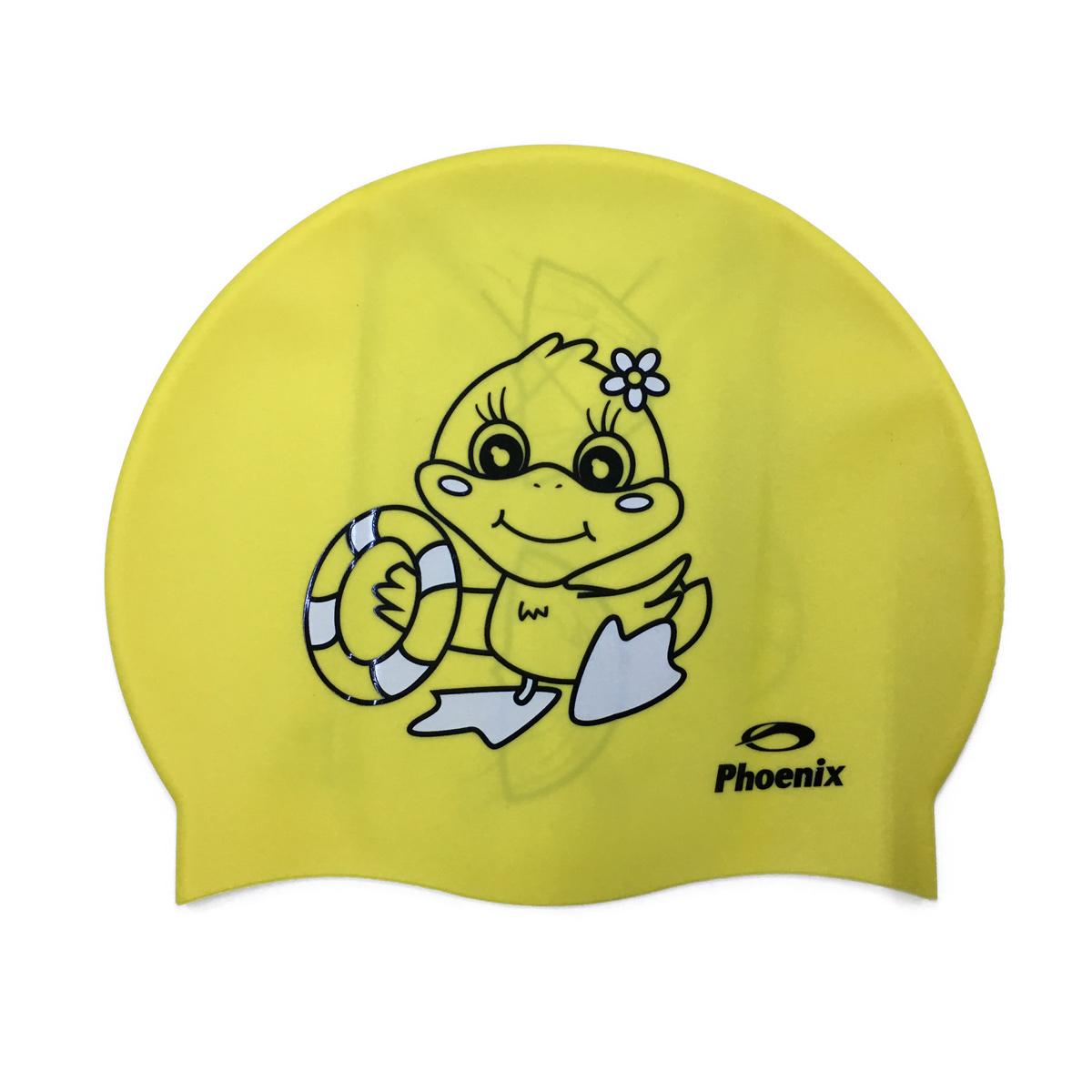 Nón Bơi Phoenix Chính Hãng Vịt Con Màu Vàng NP70