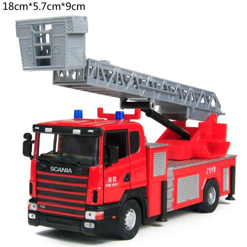 Xe cứu hỏa đẩy trớnXe Mô Hình Cỡ Trung