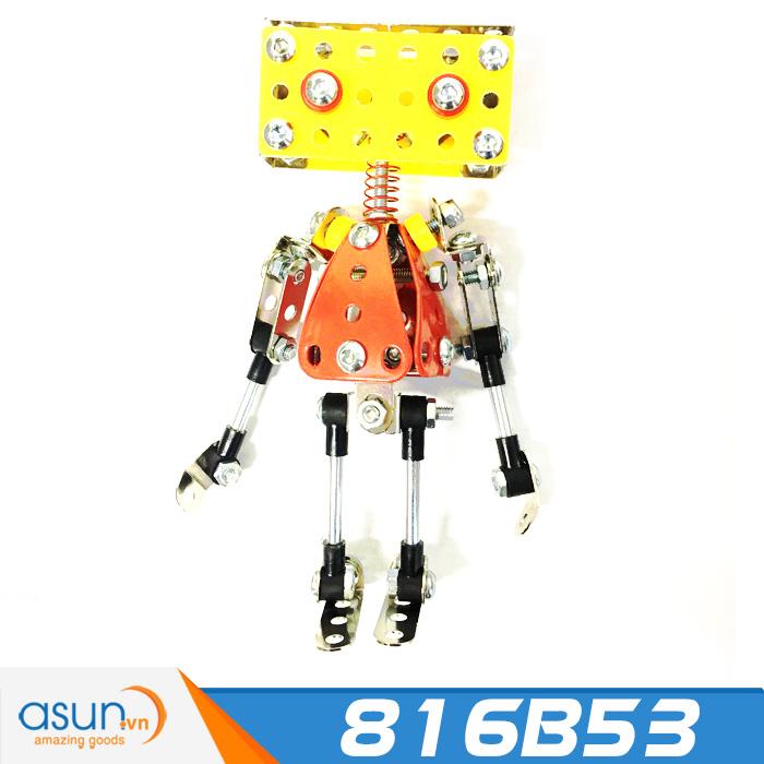 Bộ Lắp Ráp Đồ Chơi Sáng Tạo Robot 816B-53 Bằng Kim Loại