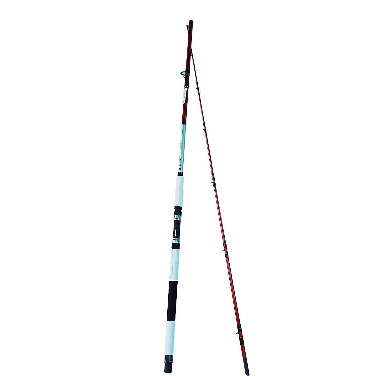 Cần Câu Hai Khúc Shimano Cruzar AX 2902 Màu Đỏ 2m7 Chính Hãng