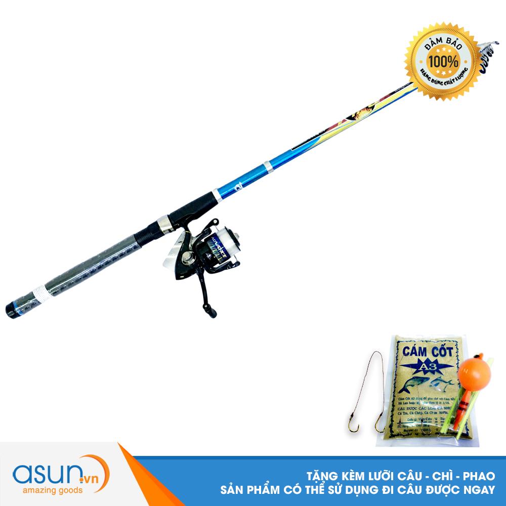 Bộ CầnCâu CáRút Fire 3m và Máy Câu Cá ADV-4000 - CBN02