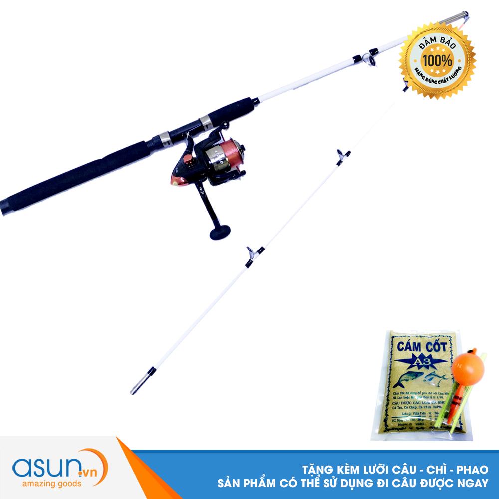 Bộ Cần đặc trắng fishing 1m8 và Máy Câu Cá AO-4000  - CBN19