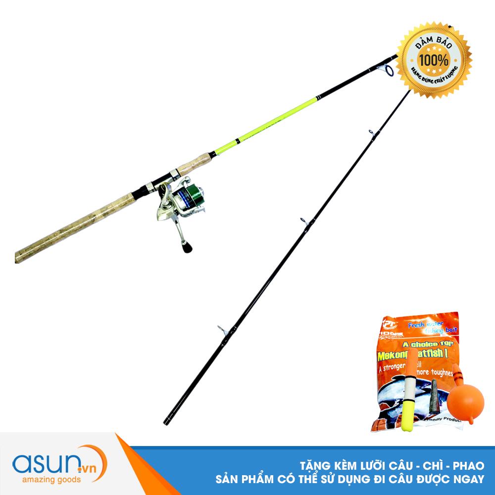 Bộ CầnCâu Cá Ashino Viper 2m4 và Máy Câu Cá EV-4000  - CBN44