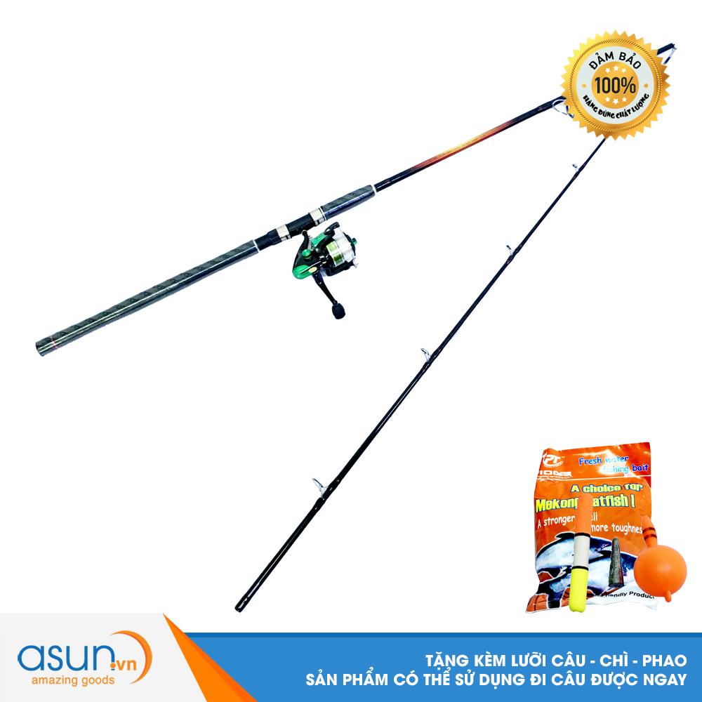 Bộ CầnCâu Cá Pristine 2m4  và Máy Câu Cá KR-4000  - CBN52