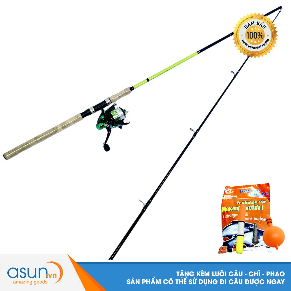Bộ CầnCâu Cá Ashino Viper 2m4 và Máy Câu CáKR-4000  - CBN54