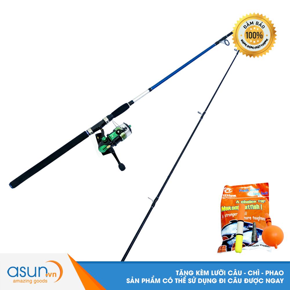 Bộ CầnCâu Cá Araiwa 2m1 và Máy Câu Cá KR-4000 - CBN56