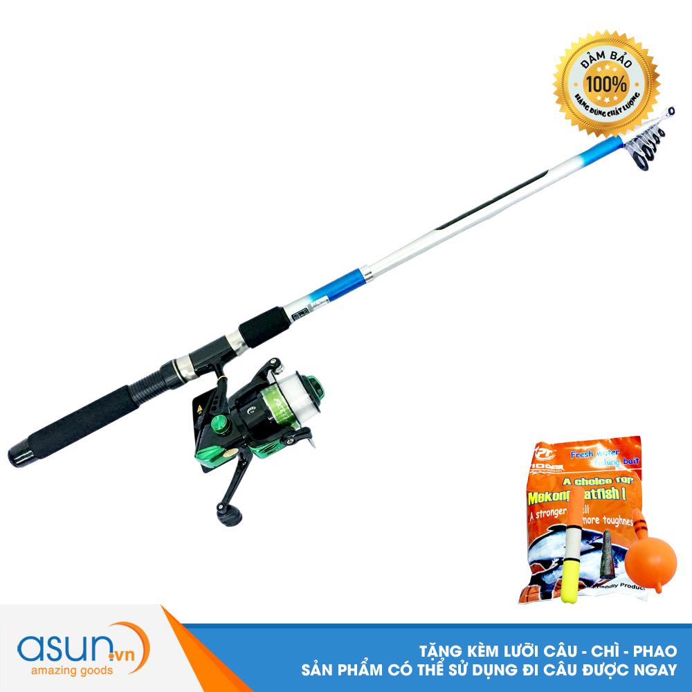 Bộ CầnCâu Cá Rút Gw 2m4 và Máy Câu Cá KR-4000 - CBN59