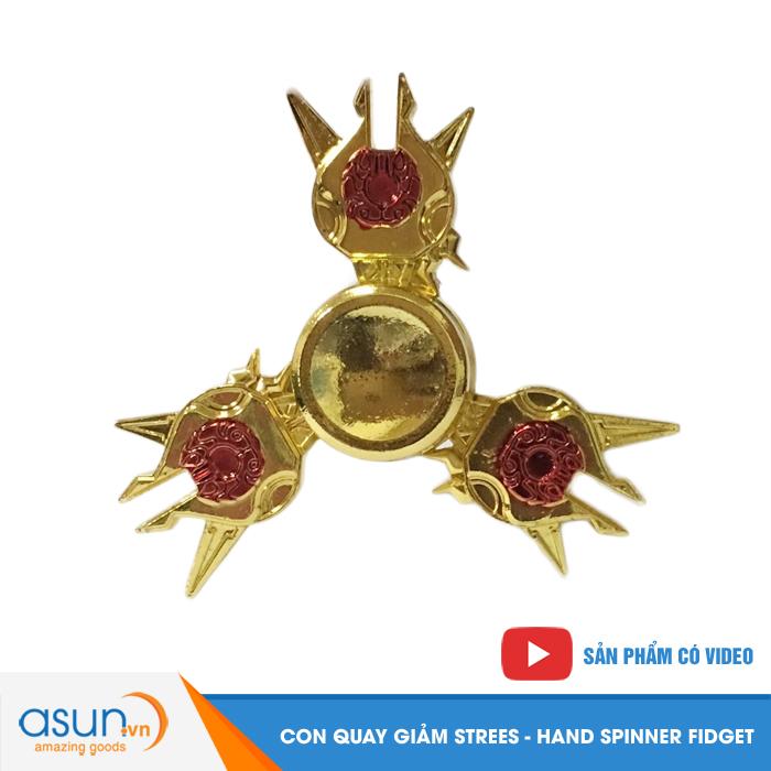 Con Quay Giảm Stress 3 Cánh Gold Hand Spinner - Fidget Spinner 2017