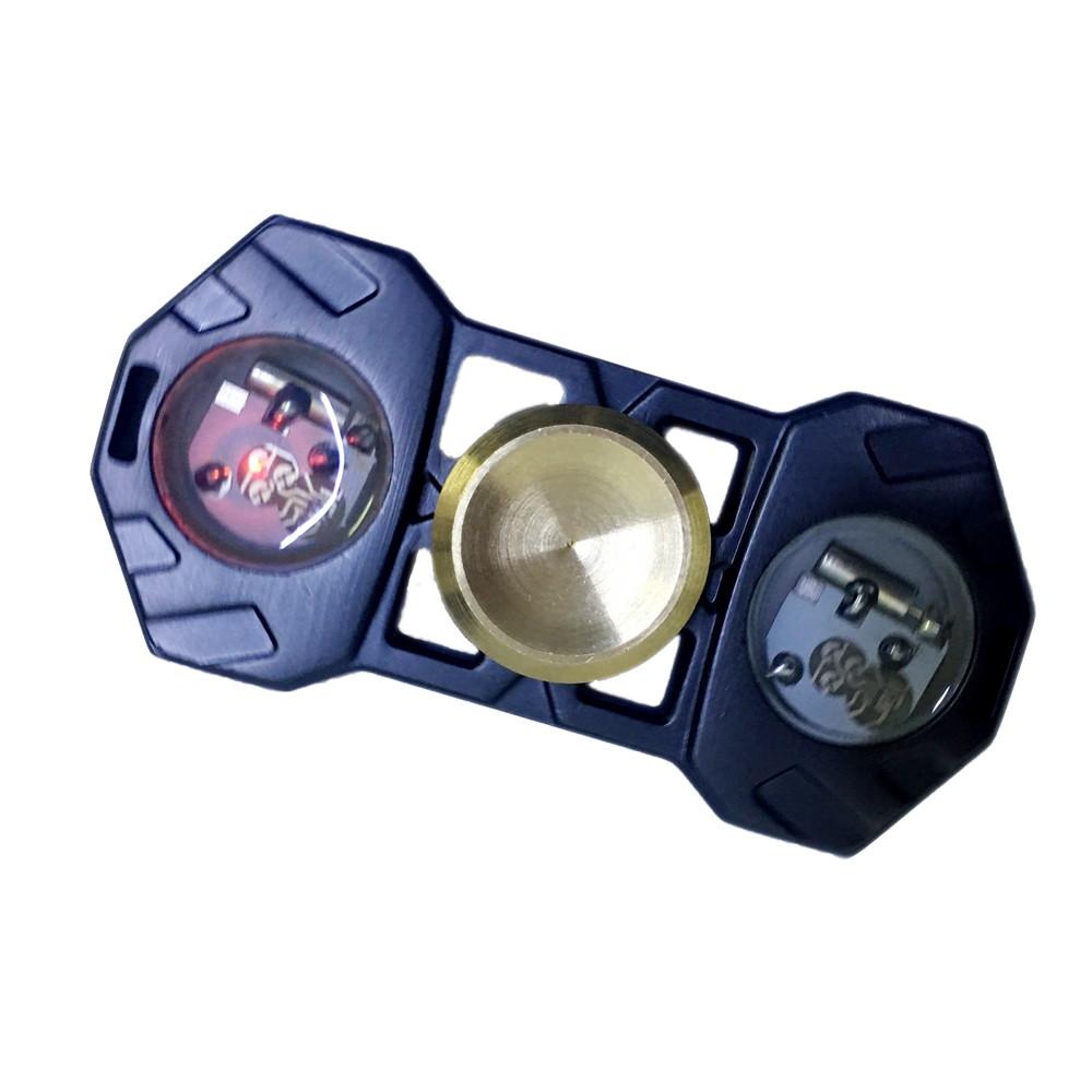 Con Quay Giảm Stress Đèn Led Hand Spinner - Fidget Spinner 2 Cánh