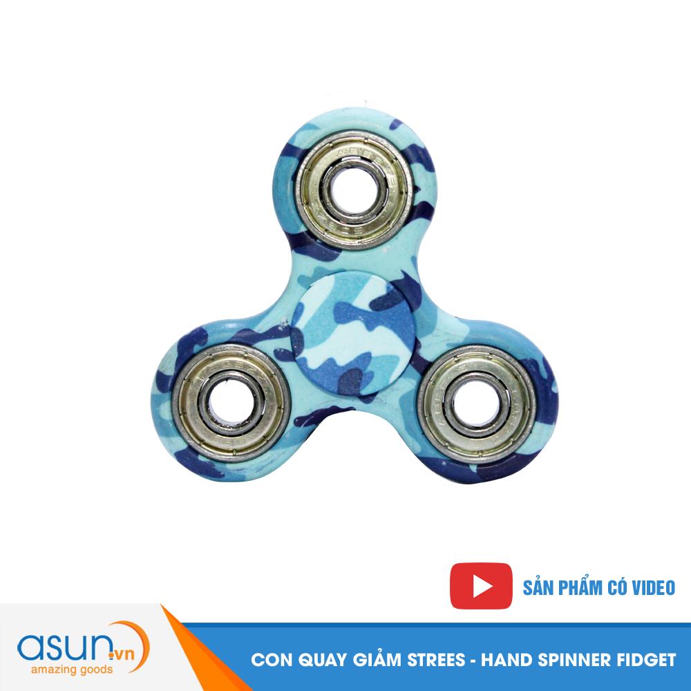 Con Quay Giảm Stress Rằn Ri Hand Spinner - Fidget Spinner Hot 2017