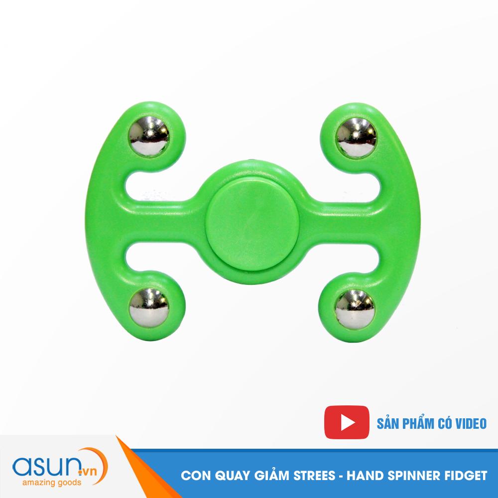 Con Quay Giảm Stress 2 Hand Spinner - Fidget Spinner Hot 2017