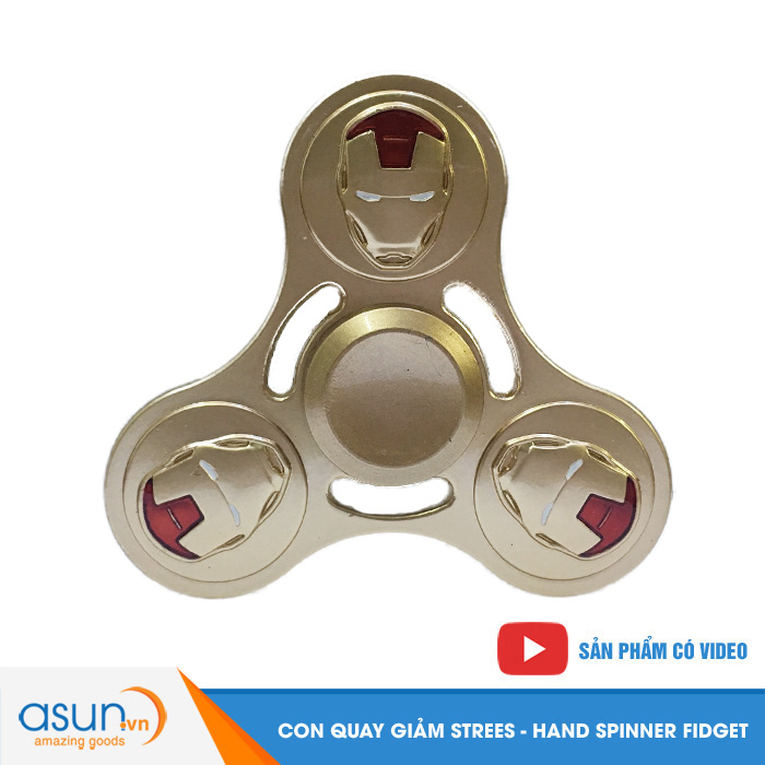 Con Quay Giảm Stress Iron Man 4 Hand Spinner - Fidget Spinner Hot 2017