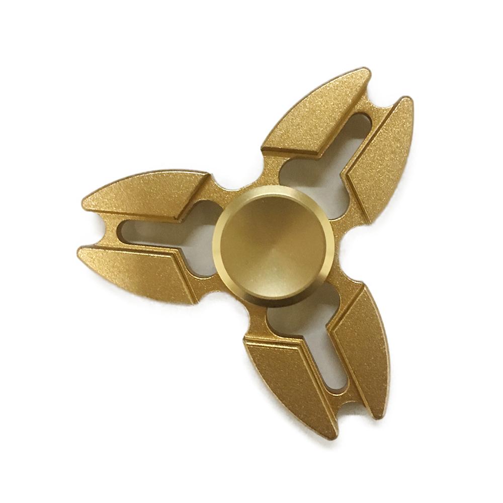 Con Quay Giảm Stress Sakura 3 Cánh Bằng Nhôm Đồng Hand Spinner - Fidget Spinner