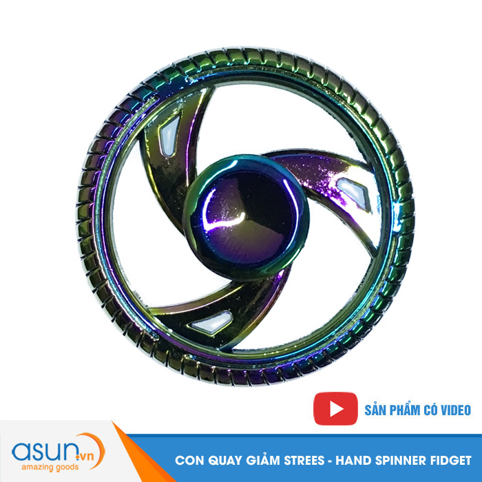 Con Quay Giảm Stress Wheel Bánh Xe Hand Spinner - Fidget Spinner Hot 2017