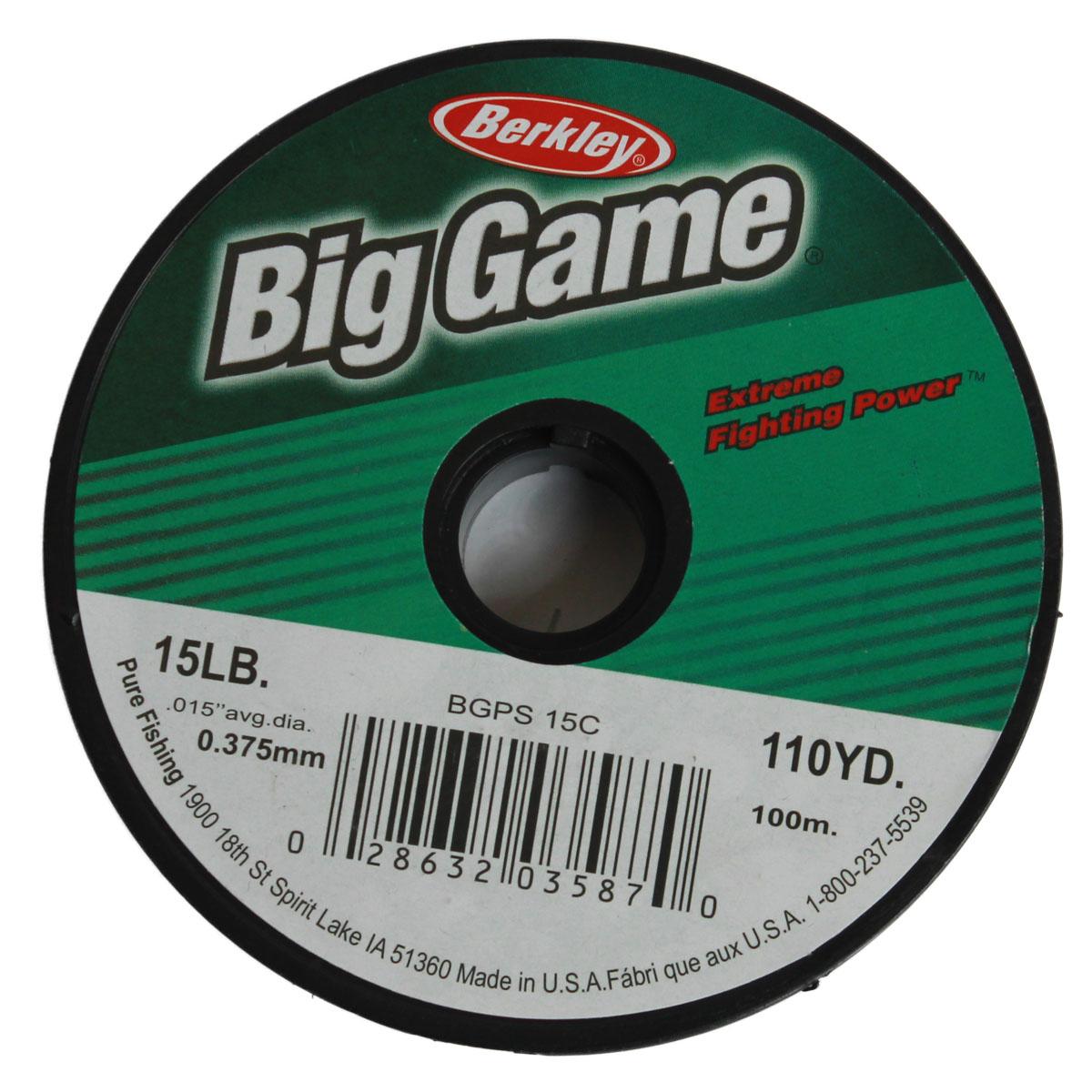 Dây Câu Cá Berkley Big Game 100m Chính Hãng