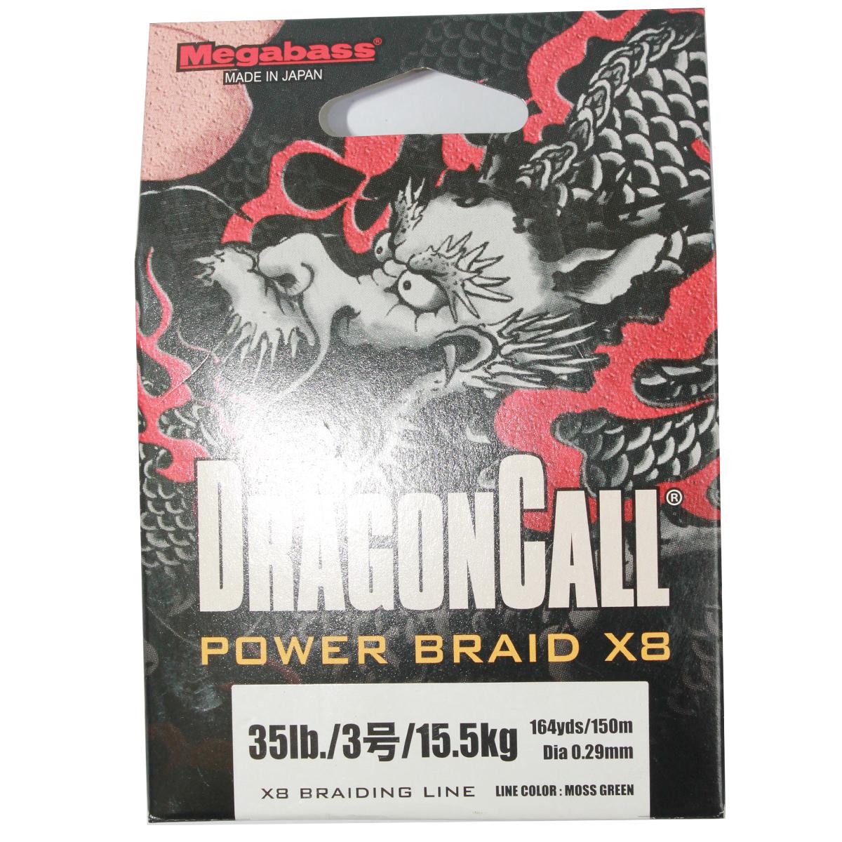 Dây Megabass Dragon Call Power Braid X8 Chính Hãng Siêu Bền