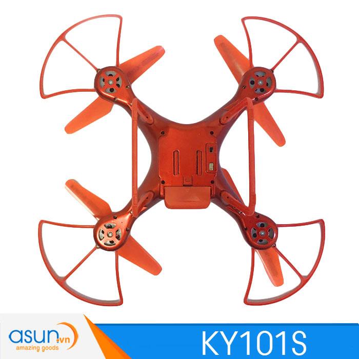 Máy Bay Điều Khiển Từ Xa KY101S Wifi Camera 1080P Tự Giữ Độ Cao