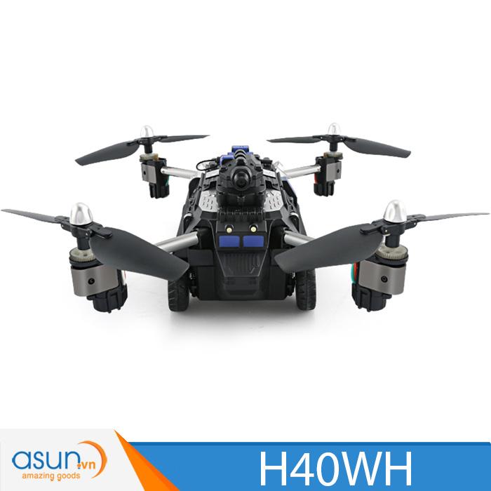 Máy Bay Điều Khiển Từ Xa JJRC H40WH Tank Quadcopter WIfi Camera 2MP vừa chạy vừa bay