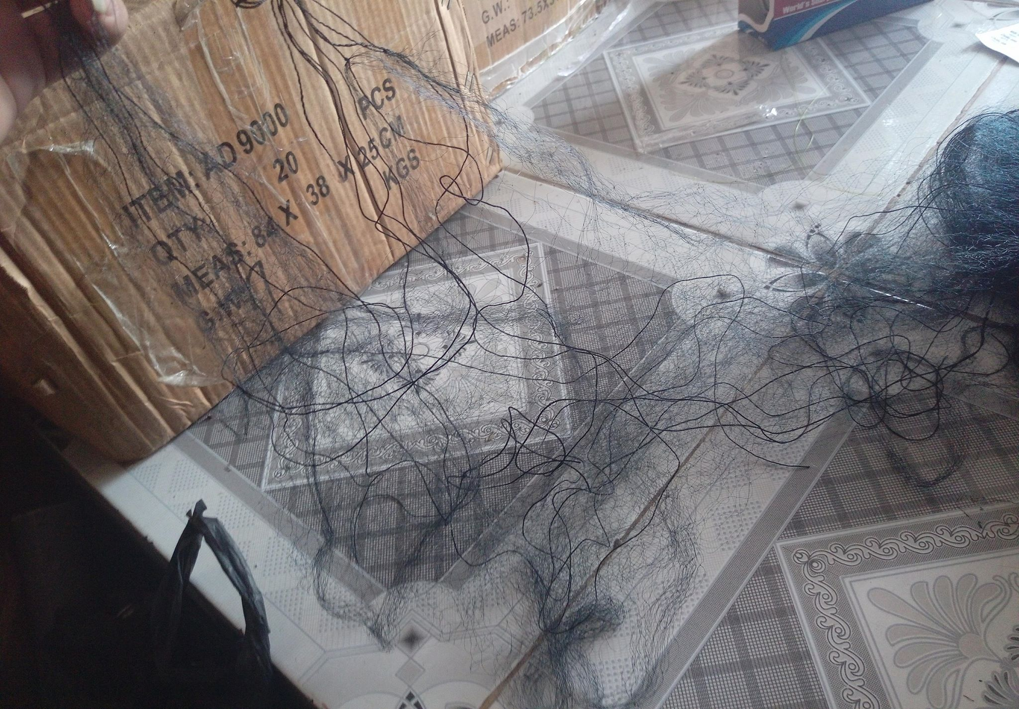 lưới bẫy chim 10m hàng Thái