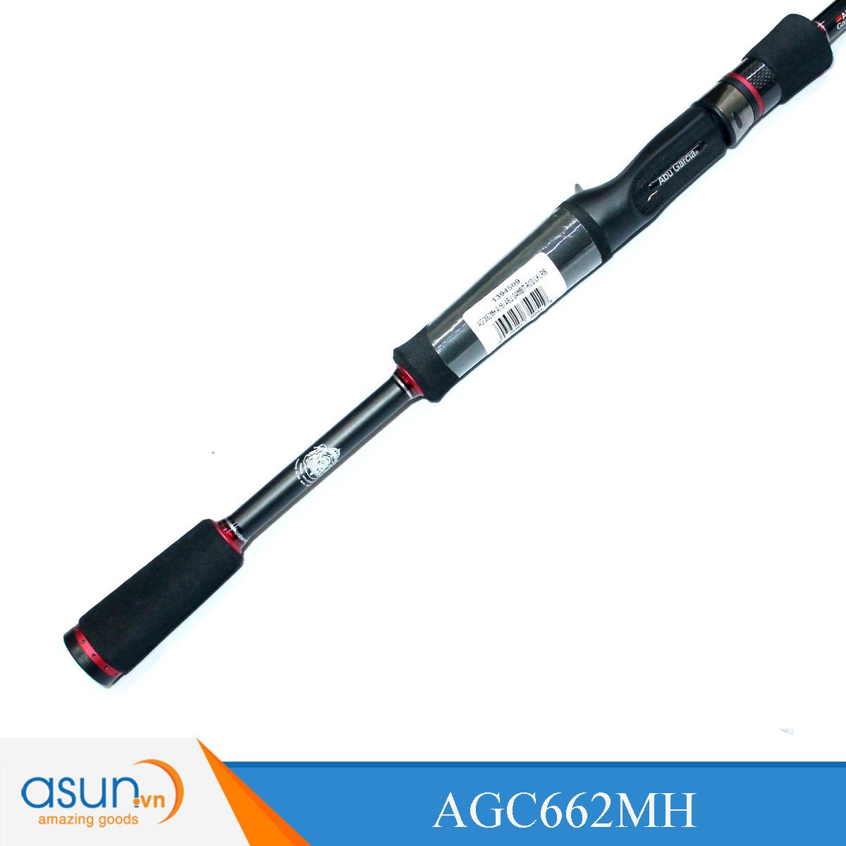 Cần Câu Ngang Hai Khúc Abu Garcia Gambit Iron Cavalier 662MH - 1m98 Chính Hãng