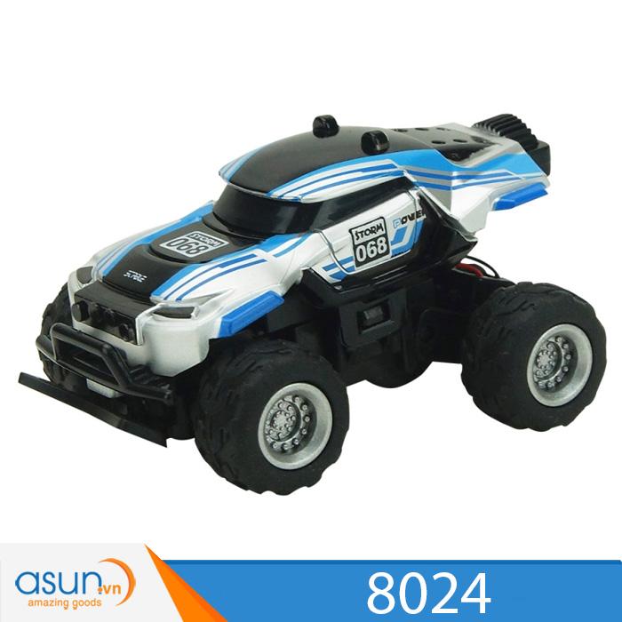 Siêu Xe Mini Điều Khiển Từ Xa Monter Truck 8024 Rc Tỷ lệ 1:58 Hot