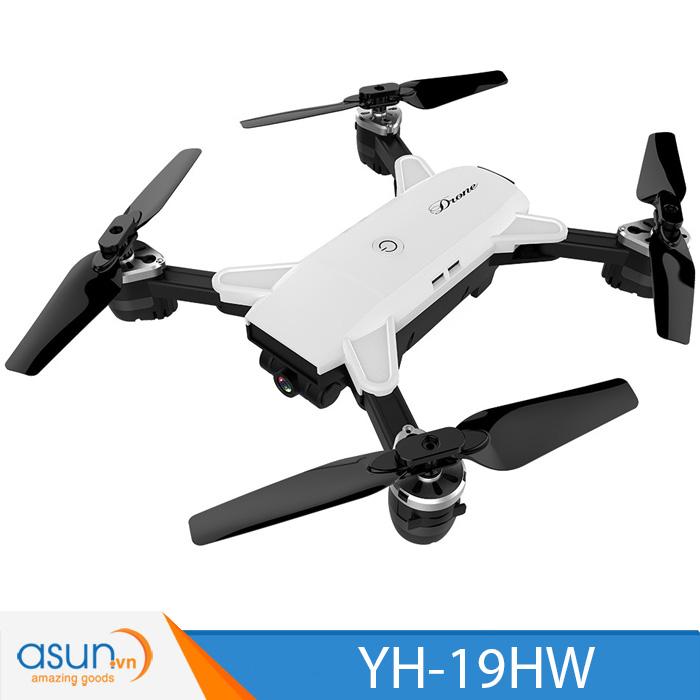 Máy Bay Điều Khiển Gấp Cánh YH-19HW Quadcopter Wifi Camera 2MP