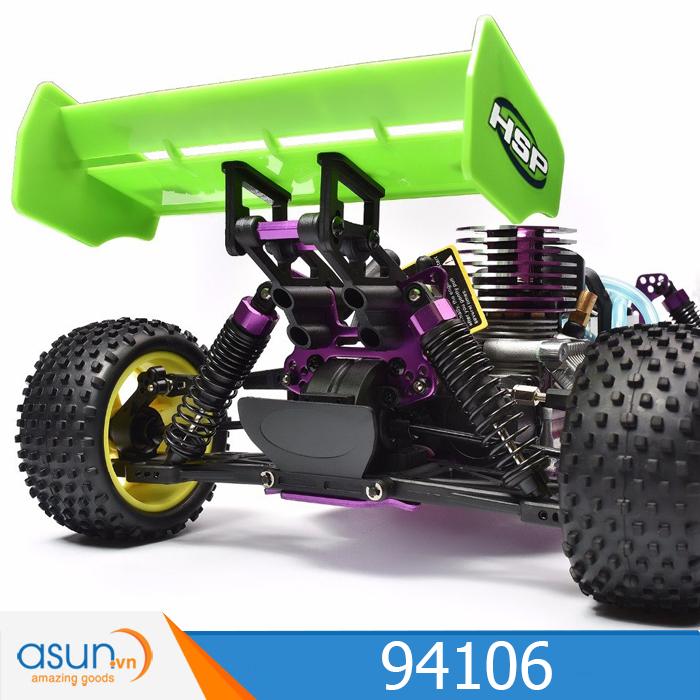 ComboXe Xăng Nitro Điều Khiển Buggy HSP 1:10 94106 Off Road 4WD