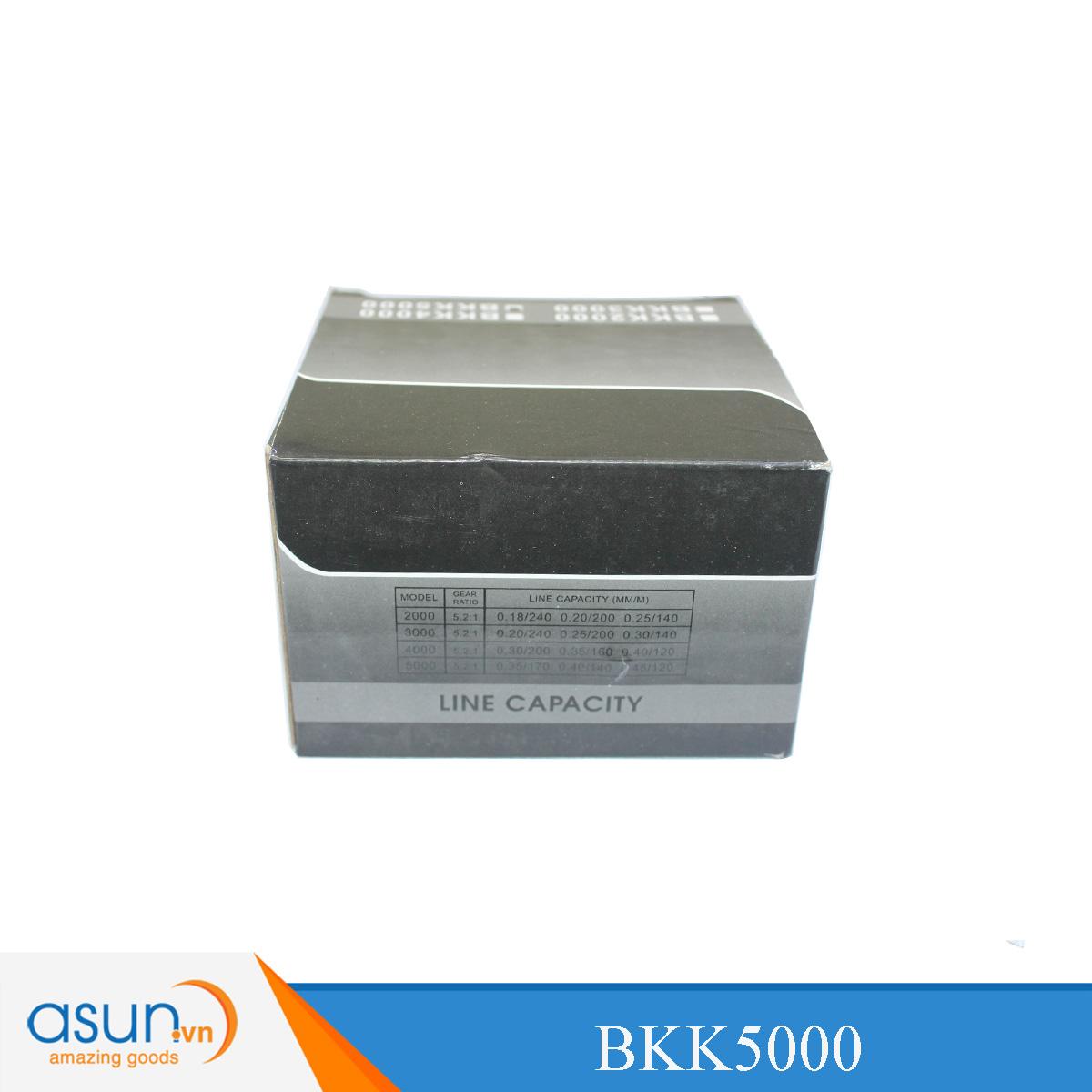 Bộ Combo Cần Câu Ashino VSpec 2m7 - Máy Câu BKK5000- Dây Cước Nhện
