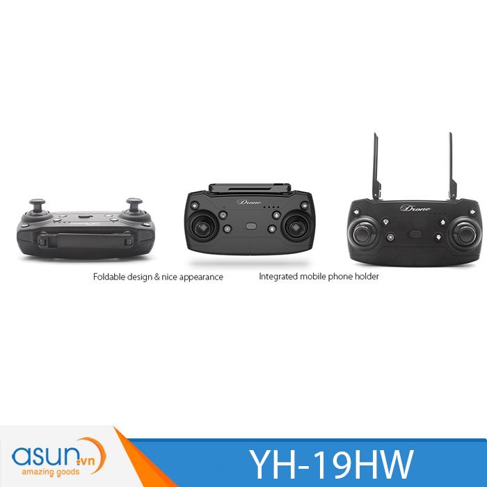Máy Bay Điều Khiển Gấp Cánh YH-19HW Quadcopter Wifi Camera