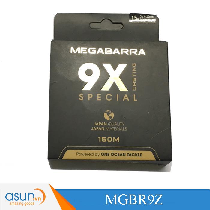 Dây bện câu cá Megabarra 9X casting 150m