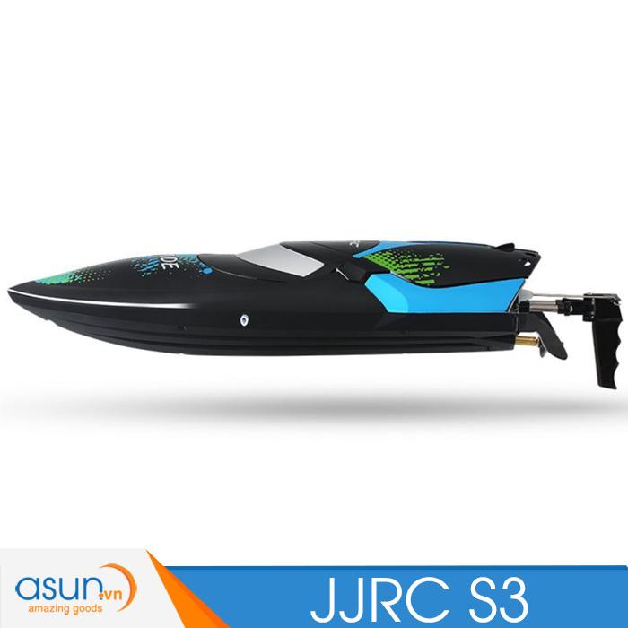 Tàu Cano Điều Khiển Từ Xa Tàu JJRC S3 RC Racing Boat
