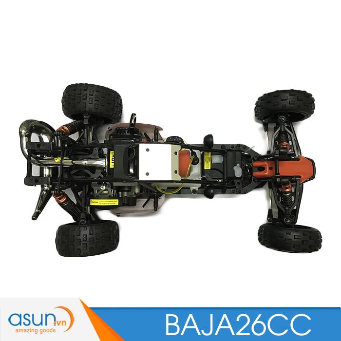 HÀNG ĐẶT TRƯỚC Combo Xe Xăng A92- A95Điều Khiển BAJA5B01 26cc Tỉ lệ 1-5