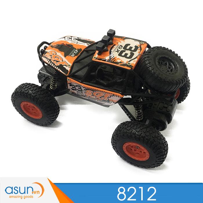 Xe  Điều Khiển Địa Hình Rock Crawler 8212 2WD cam