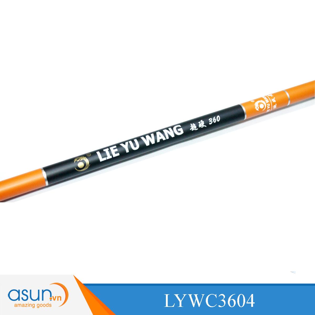 Cần Câu Tay Lei Yu Wang Màu Cam 3604 Cần câu chính hãng