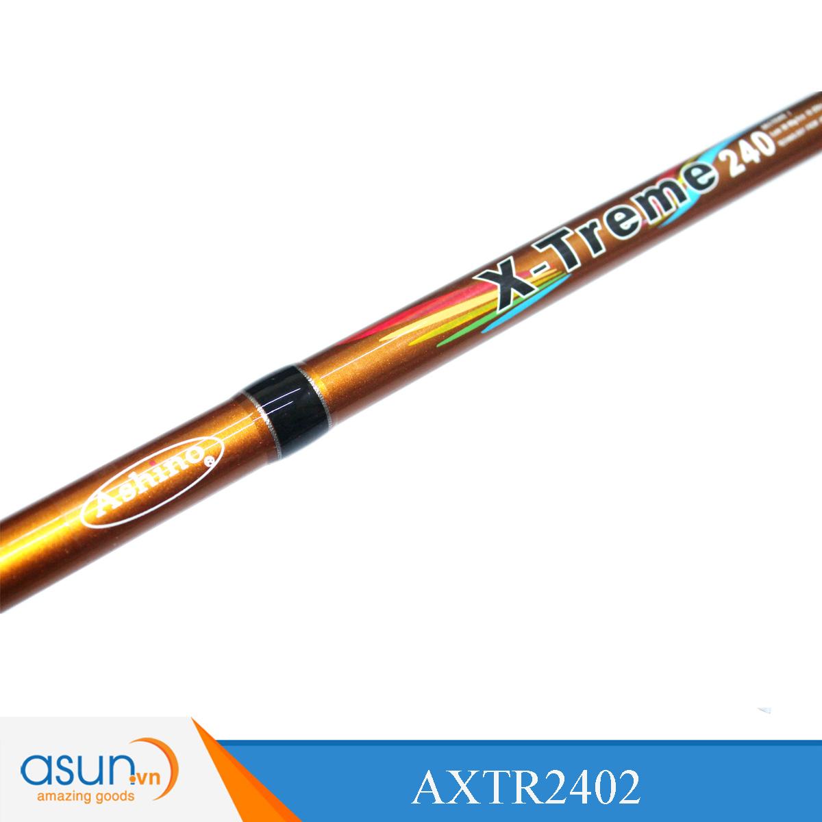 Bộ Combo Cần Câu Ashino X treme 2m4 - Máy Câu BKK5000- Dây Cước Nhện
