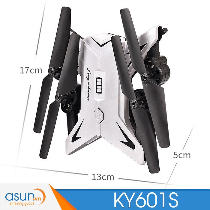 Máy Bay Điều Khiển Từ Xa KY601S Wifi Camera 1080P Tự Giữ Độ Cao