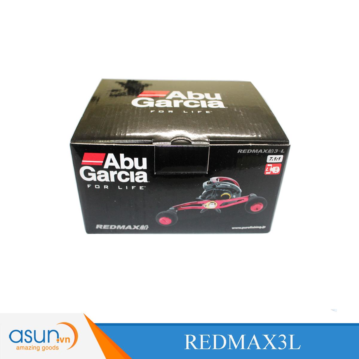Máy Câu Ngang Abu Garcia Red Max 3 - Left Handle - Tay quay bên trái chính hãng