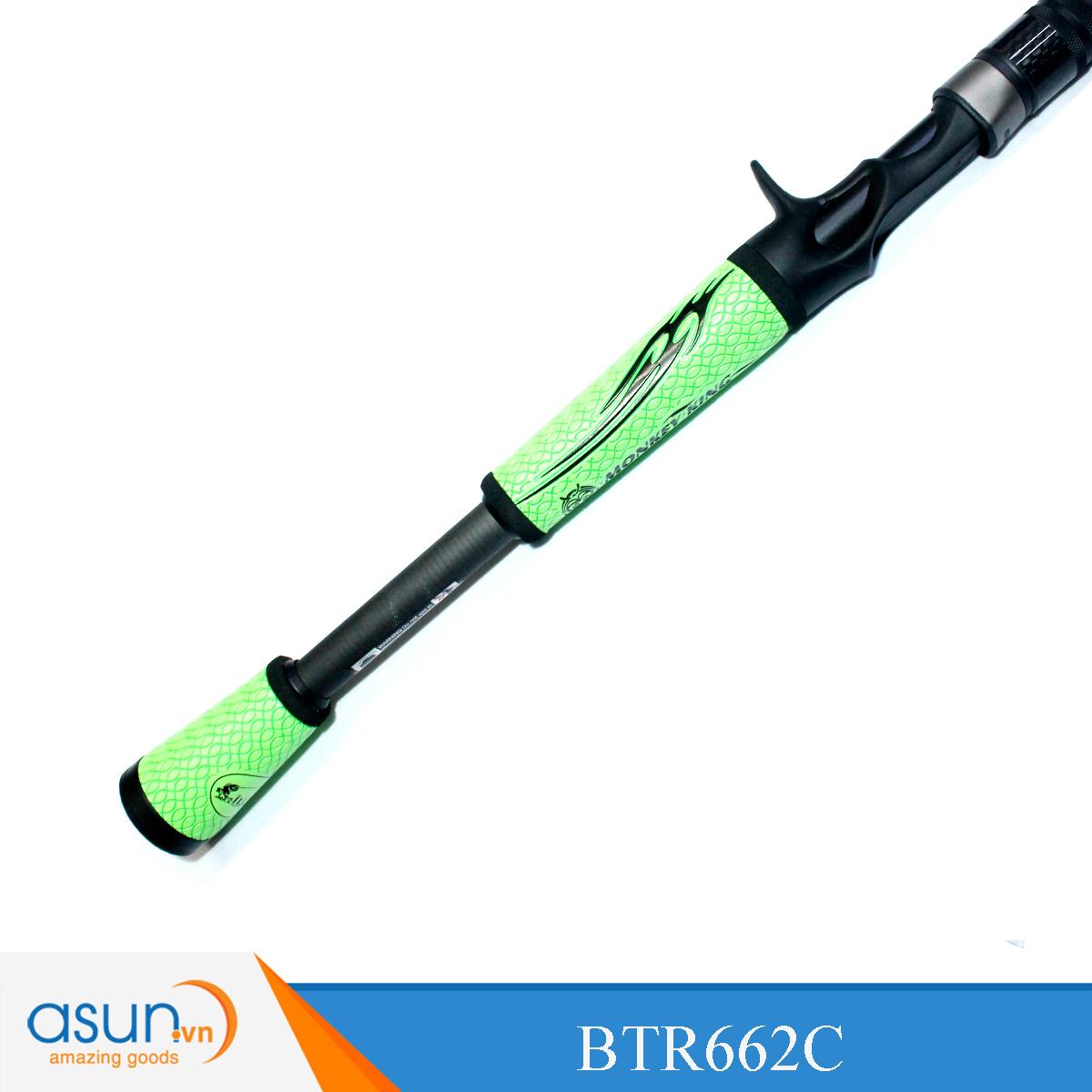 Cần Câu Rút Máy Ngang I Lure Bass One BTR662C - 1m98 - Chính Hãng