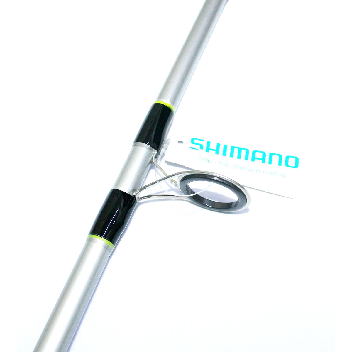 Cần Câu Máy Hai Khúc Đặc Shimano Cruzar 802 Vàng Chanh -  2m4 Chính Hãng