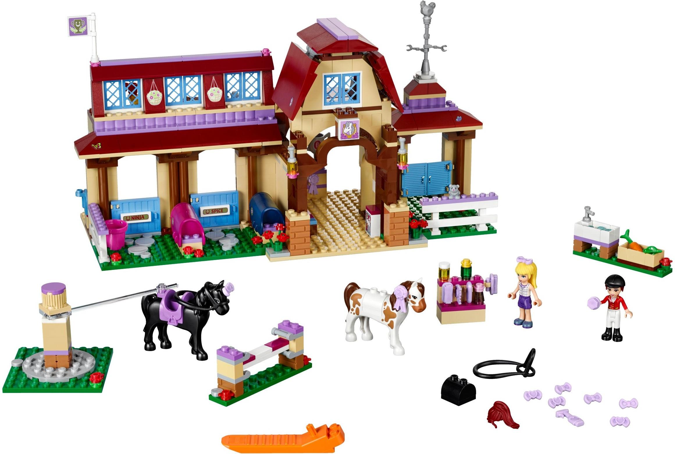 Đồ Chơi Xếp Hình - Câu Lạc Bộ Đua Ngựa Heartlake Thương Hiệu LEGO