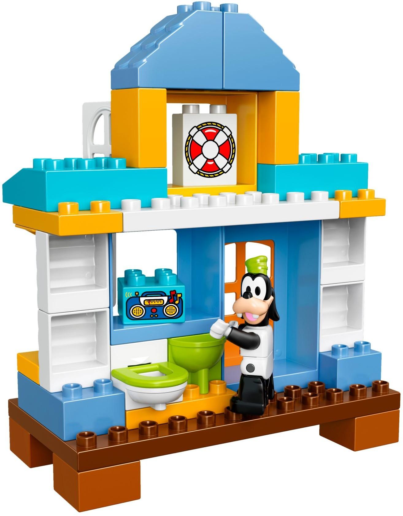 Đồ Chơi Xếp Hình - Nhà Bãi Biển Của Mickey Thương Hiệu LEGO