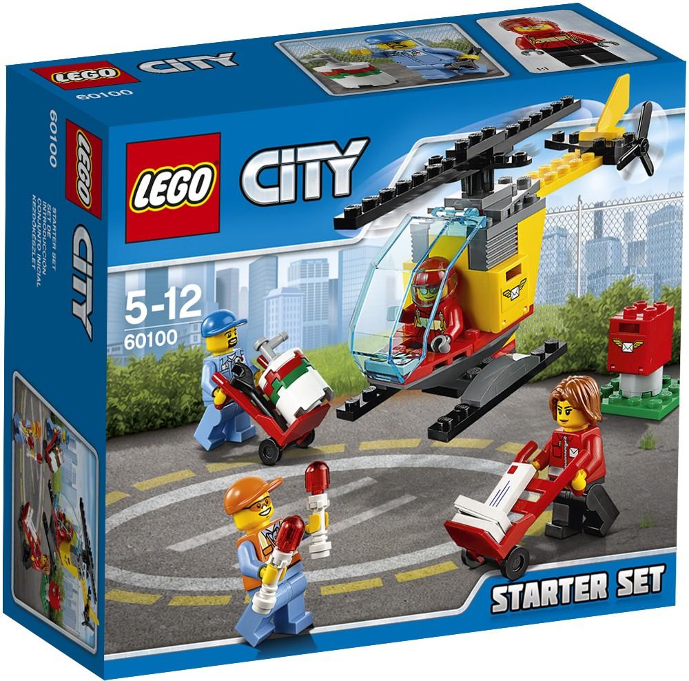Đồ Chơi Xếp Hình - Sân bay Thương Hiệu LEGO
